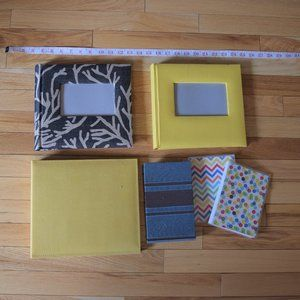 Photo Album Book Bundle Lot